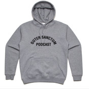 Outer Sanctum Podcast Grey Hoodie
